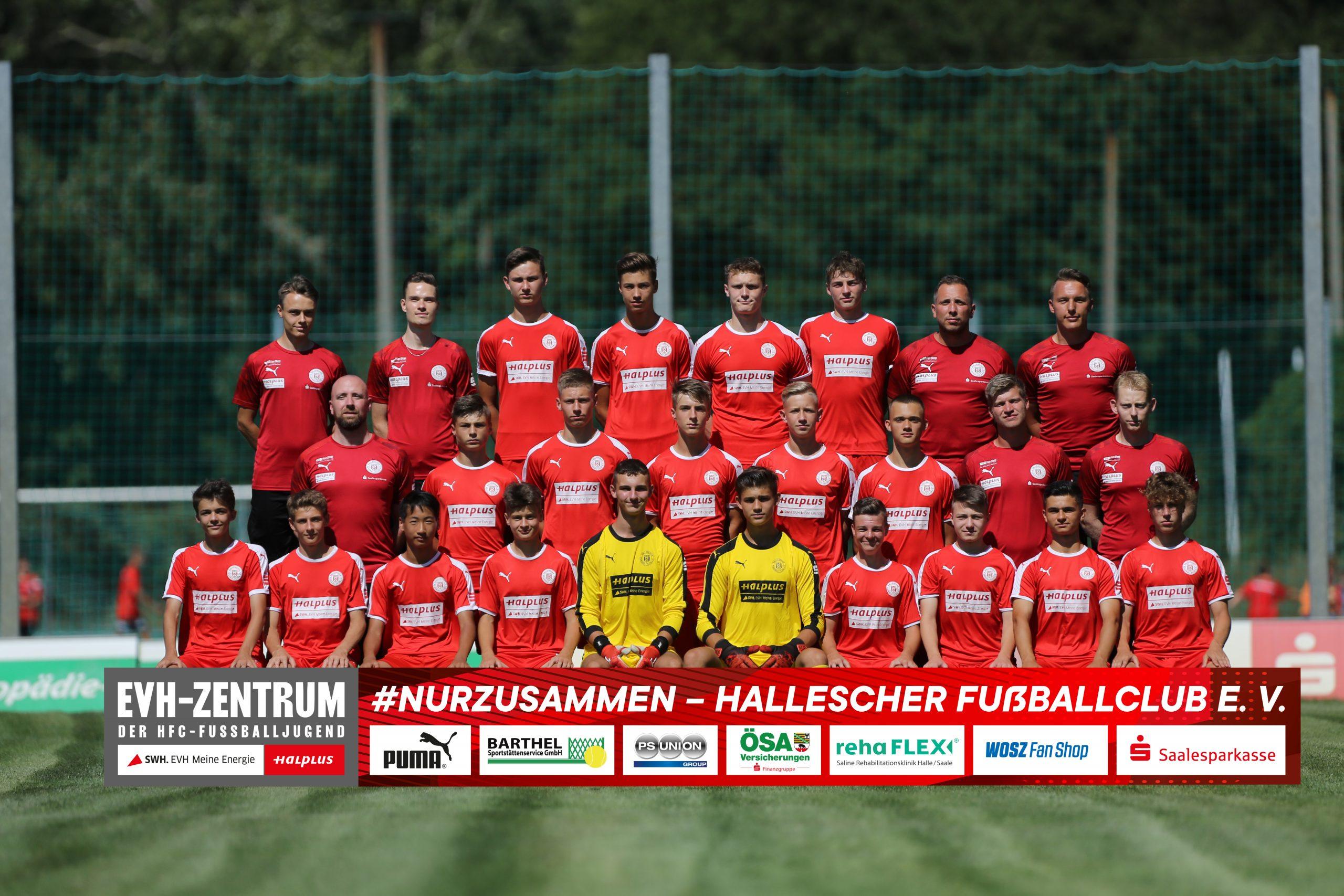 HallescherFC_U16_Saison20