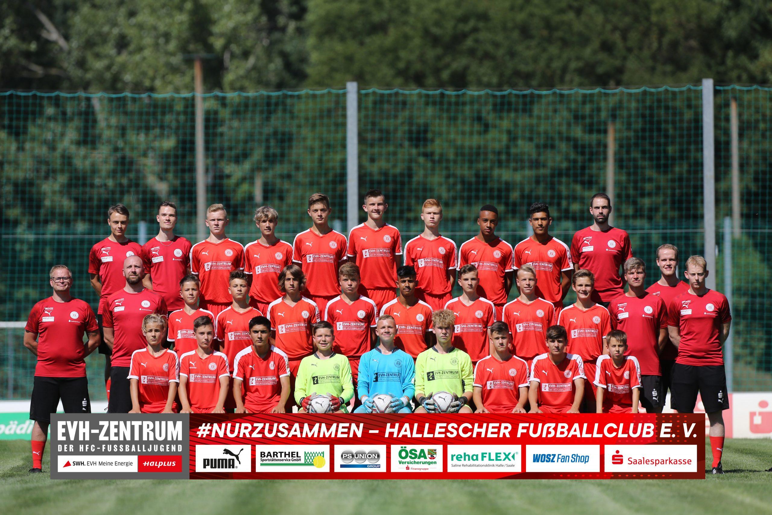 HallescherFC_U16_Saison20-21