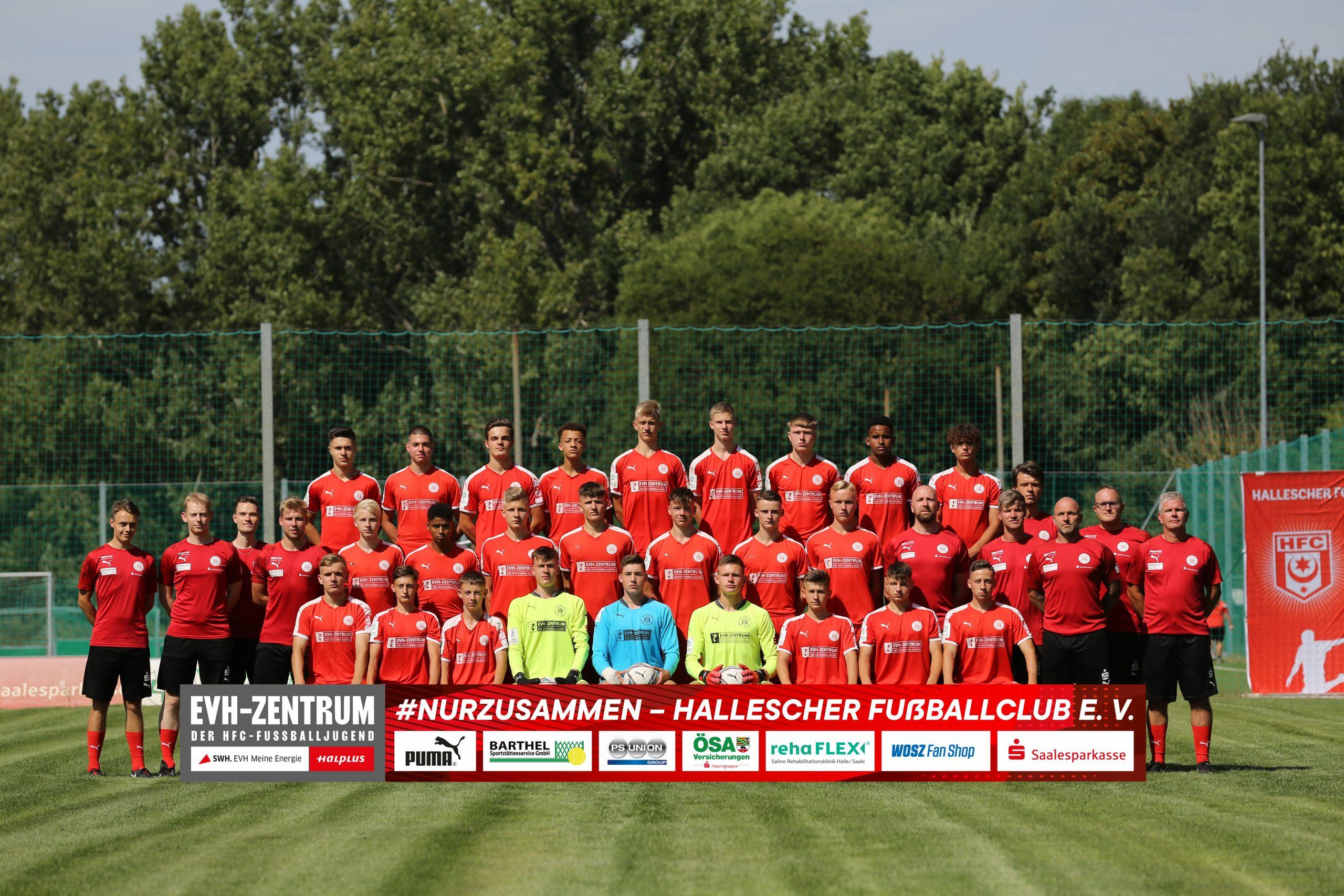 HallescherFC_U17_Saison20-21